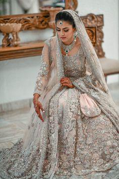 The Elan Bride - Source by violamamuzic - Asian Wedding Dress Pakistani, Pakistani Bridal Lehenga, Asian Bridal Dresses, Simple Pakistani Dresses, Indian Gowns Dresses, Indian Bridal Outfits, Indian Bridal Fashion, Indian Bridal Wear, Pakistani Wedding Dresses