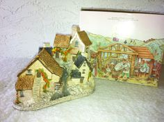 """David Winters Cottages, """"BROOKSIDE HAMLET"""",  From the 1982 Collection.   by AntiqueCarla, $29.99"""