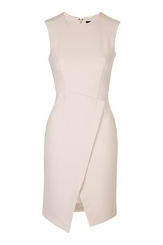 Structured Wrap Dress - Dresses - Clothing - Topshop