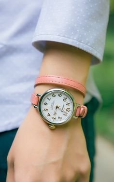 coral wrap watch