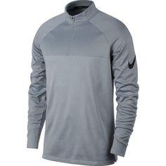 697290af3627c Nike Therma Core Half-Zip Men s Golf Top - Wolf Grey