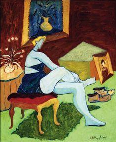 Milton Avery (American, 1885 – 1965) was an American modern painter