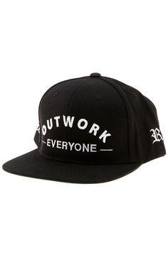 Outwork Everyone Snapback in Black