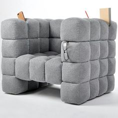 A chair that hides your stuff!