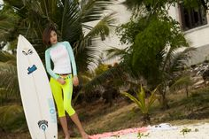 Barbie Sirup Rash guard - simplicity  For just women!  color: sky/white