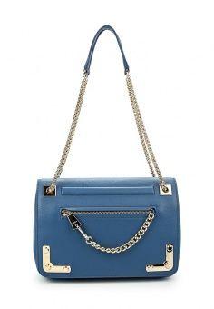 Сумка, Furla, цвет: синий. Артикул: FU003BWLQL47. Женские аксессуары / Сумки / Сумки через плечо
