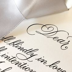 The Ginger Pen Gallery Brush Lettering, Hand Lettering, Addressing Envelopes, Modern Calligraphy, Wedding Vows, Note Cards, Wedding Details, Gift Tags, Studio