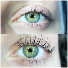 17 Lash Lift Before And After Pictures That'll Give You Serious Goals Keratin Lash Lift, Eyebrows, Eyeliner, Hair Curlers Rollers, Black Lashes, Eyelash Sets, Air Dry Hair, Best Lashes, Natural Lashes