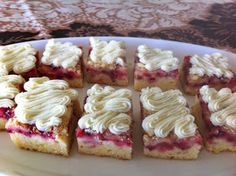 Baking Recipes, Cake Recipes, Dessert Recipes, Desserts, Finnish Recipes, Sweet Pastries, Cake Bars, Sweet Pie, Sweet Cakes