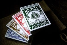 Magic Cardistry Bicycle Nautic Playing Cards Collecting