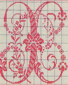 Alfabeto Antico Punto Croce (22)