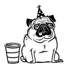 Pug Party | pug at a party | Flickr - Photo Sharing!