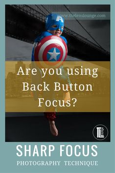 Why back button focusing should be your new BFF. If you're struggling with focus in your photographs, back button focus could be your answer. #phototips #focus #photography