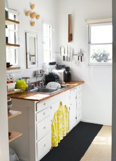 A Glimpse Inside (and Outside) My Kitchen: Emily in Los Angeles-- I love the feel of this kitchen!