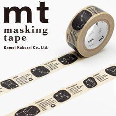 【カモ井加工紙】マスキングテープmtforkids