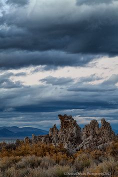 Clouds over the Tufas by DeniseDewirePhotography, via Flickr