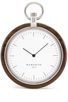 Pocket Watch - Sandal Wood