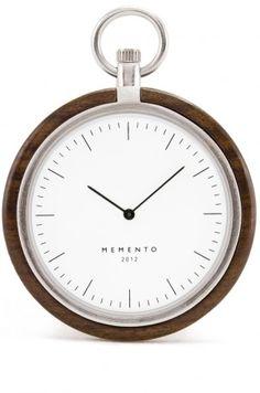 Montre Pocket Watch - Sandal Wood chez Memento - Timefy ($100-200) - Svpply