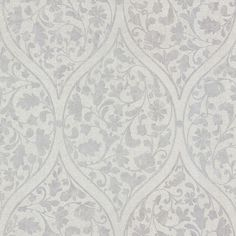 Adelaide Lavender Ogee Floral Wallpaper design by Brewster Home Fashions