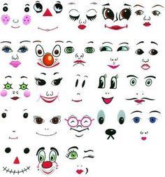 Embroidery Machine Designs CD DOLL FACES