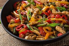 This savory Stir-Fry Sesame Chicken swoops to the rescue on busy nights. It's quick, easy, and appeals to the whole family.