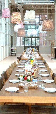 Piet Hein Eek restaurant Eindhoven * Interiors Interiors Interiors * The Inner Interiorista