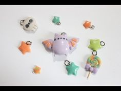 Halloween Tutorial: DIY Pusheen Bat Charm (Series 1 of 3) - YouTube