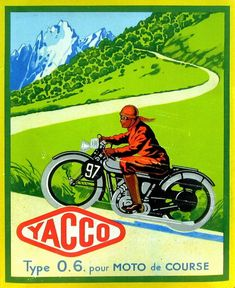 Bike Poster, Motorcycle Posters, Poster Ads, Motorcycle Art, Bike Art, Advertising Poster, Old School Art, Motorcycle Events, Classic Bikes