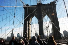 Want to walk across the Brooklyn Bridge? Here's the skinny on the best trains to take the bridge and easiest routes to travel across the bridge.