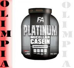 Cena: 163,00 zł FA Platinum Micellar Casein 1600g