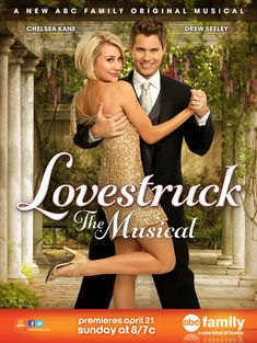 Watch Lovestruck: The Musical (TV Movie full hd online Directed by Sanaa Hamri. With Jane Seymour, Sara Paxton, Chelsea Kane, Drew Seeley. A jaded woman who never fulfilled her dreams of a Bro Drew Seeley, Chelsea Kane, Sara Paxton, Jane Seymour, Abc Family, Family Movies, Tv Series Online, Movies Online, Movies Showing