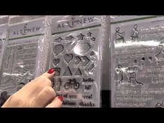 CHA Winter 2016 - Altenew Original and Iconic Stamps - YouTube