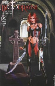 Bloodrayne Plague Of Dreams #1 Retailer Incentive Limited Edition Of 500 Variant Book (2006)