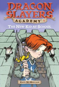 The Paperback of the The New Kid at School (Dragon Slayers' Academy Series by Kate McMullan, Bill Basso, Stephen Gilpin Funny Books For Kids, Books For Boys, Childrens Books, Best Books List, Good Books, My Books, Book Lists, Book Finder, Enough Book