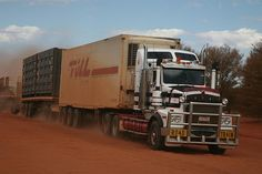 Kenworth Truck or Road Train, Tanami Road, NW of Alice Spr… | Flickr