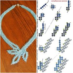 Necklace from Anna #Seed #Bead #Tutorials by marci