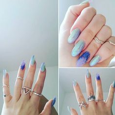 N a i l G o a l s  @charliedowrick has an awesome BMM collection and we love those mermaid nails!! Shop here  http://ift.tt/2oonkJ8 #bloodymarymetal #teambmm #bmmclassics