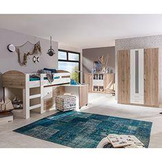 Superb Kinderzimmer komplett Lenny Jugendzimmer Eiche mit Wei Mit diesem Kinderzimmer komplett vom Hersteller Wimex treffen Sie eine gute Wahl
