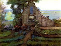 Rural House, Piet Mondrian (1872 - 1944)