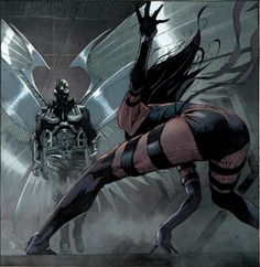 Psylocke & Archangel