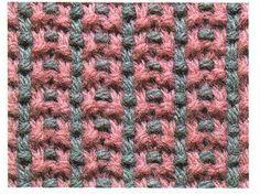 тканый узор - Многоцветные узоры - Галерея - Knitting Forum.Ru