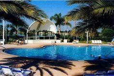 Orange Lake Resort Orlando Florida. One of the West Village pools. Holiday Inn Club Vacations Kissimmee, FL