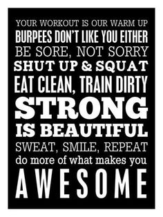 Fitness Motivation Giclee Print by Cheryl Overton at AllPosters.com