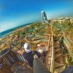 The weekend has just arrived! Awesome shot by @chrissified of #Dubai's @WildWadiWaterpark.