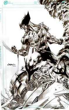 Old Fashioned Wolverine by Jimbo02Salgado.deviantart.com on @deviantART