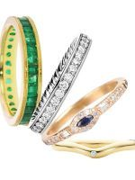 20 Gorgeous Wedding Bands For Every Type Of Bride #refinery29  number 12 the solid gold band is on my list