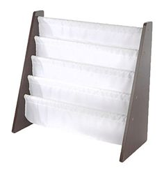 [Toy Storage Organizer] Tot Tutors Kids Book Rack Storage Bookshelf, Espresso/White (Espresso Collection) >>> Details can be found by clicking on the image. (This is an affiliate link) #ToyStorageOrganizer