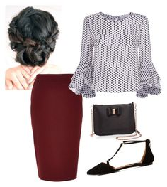 """"""""""" by ohraee019 on Polyvore featuring River Island, Milly, Qupid and Ted Baker"""