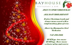 ALL Day Breakfast with sorrel and ginger beer this Christmas Day @BayhouseRestaurantANU @twh_antigua @Cheryl Carter