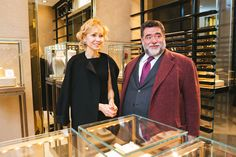 """Pomellato boutique opening in """"Petrovsky Passage"""" Golden Time"""